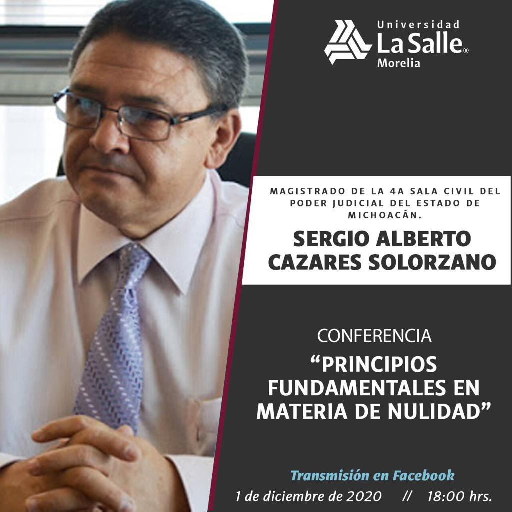 CONFERENCIA: PRINCIPIOS FUNDAMENTALES EN MATERIA DE NULIDAD