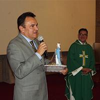 Celebración Eucarística en Honor a las Víctimas del Sismo y Cumpleaños de Nuestro Rector