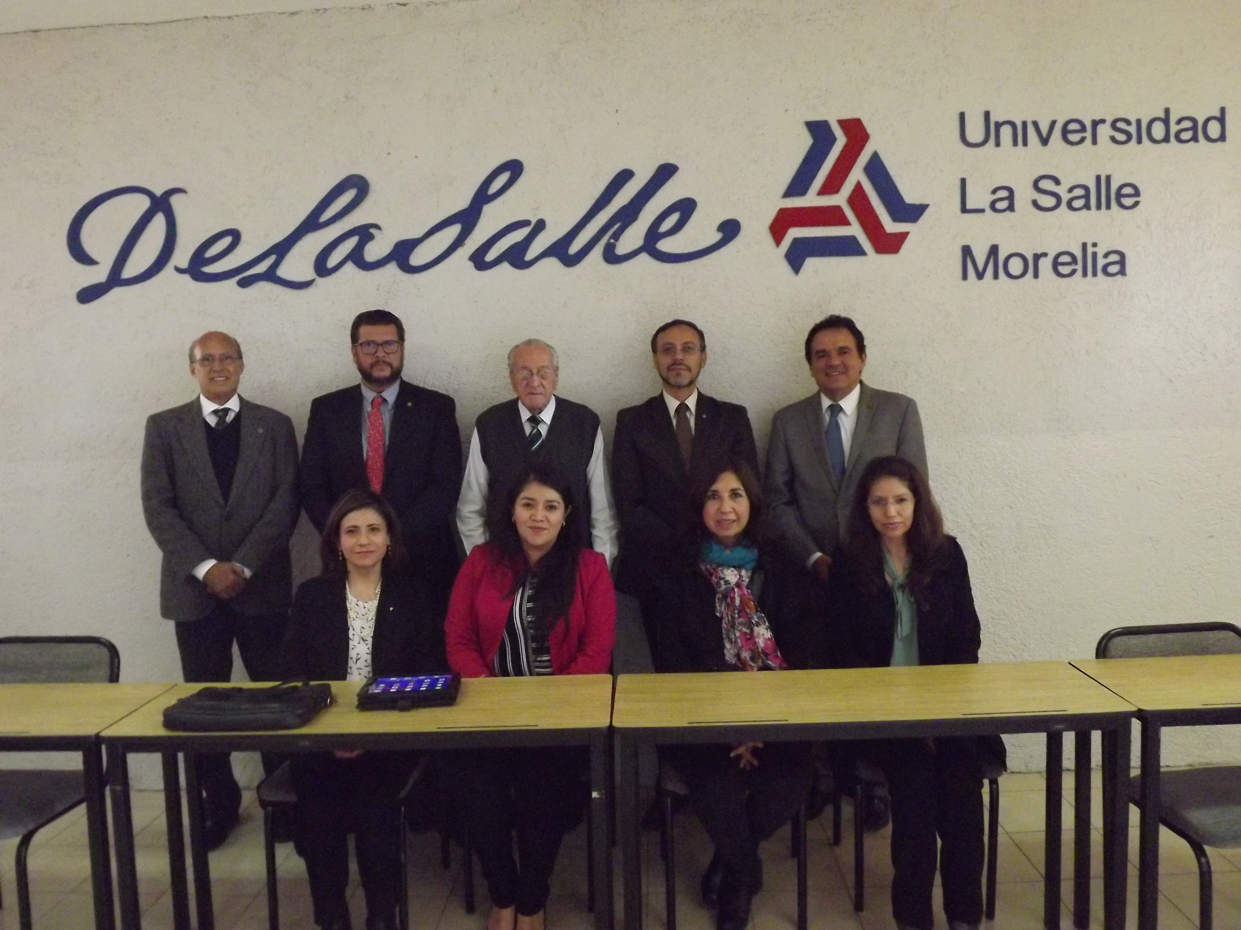 HERMANOS LA SALLISTAS VISITAN LA UNIVERSIDAD LA SALLE MORELIA.