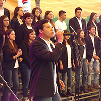 Participa el Grupo Musicanto en las festividades lasallistas en la Ciudad de México.