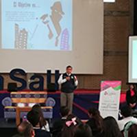 """En La Salle imparten conferencia: """"MITOS Y REALIDADES DE LA SEGURIDAD PERSONAL"""""""