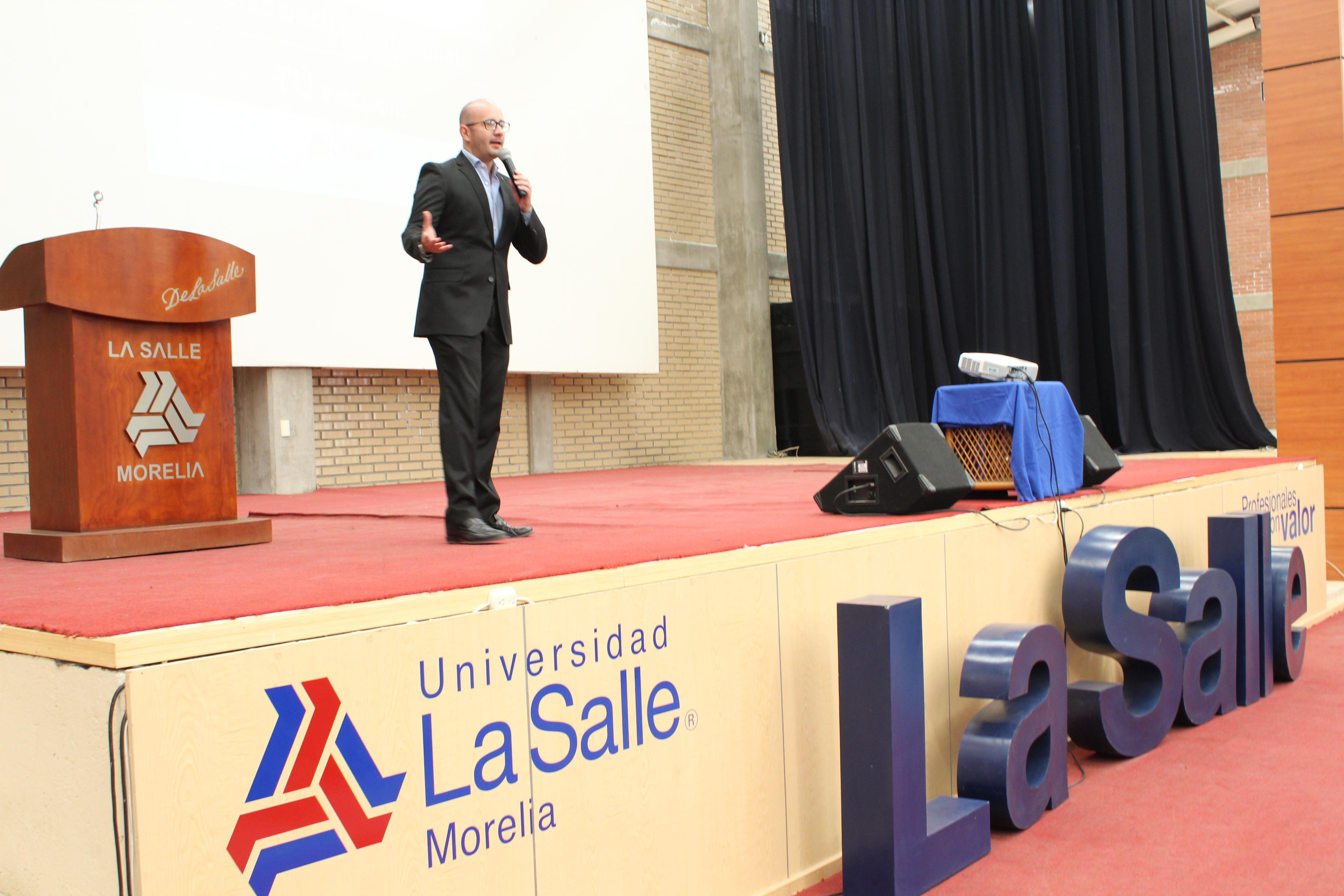 CONFERENCIA DEL MAESTRO MARKEL LEHMAN
