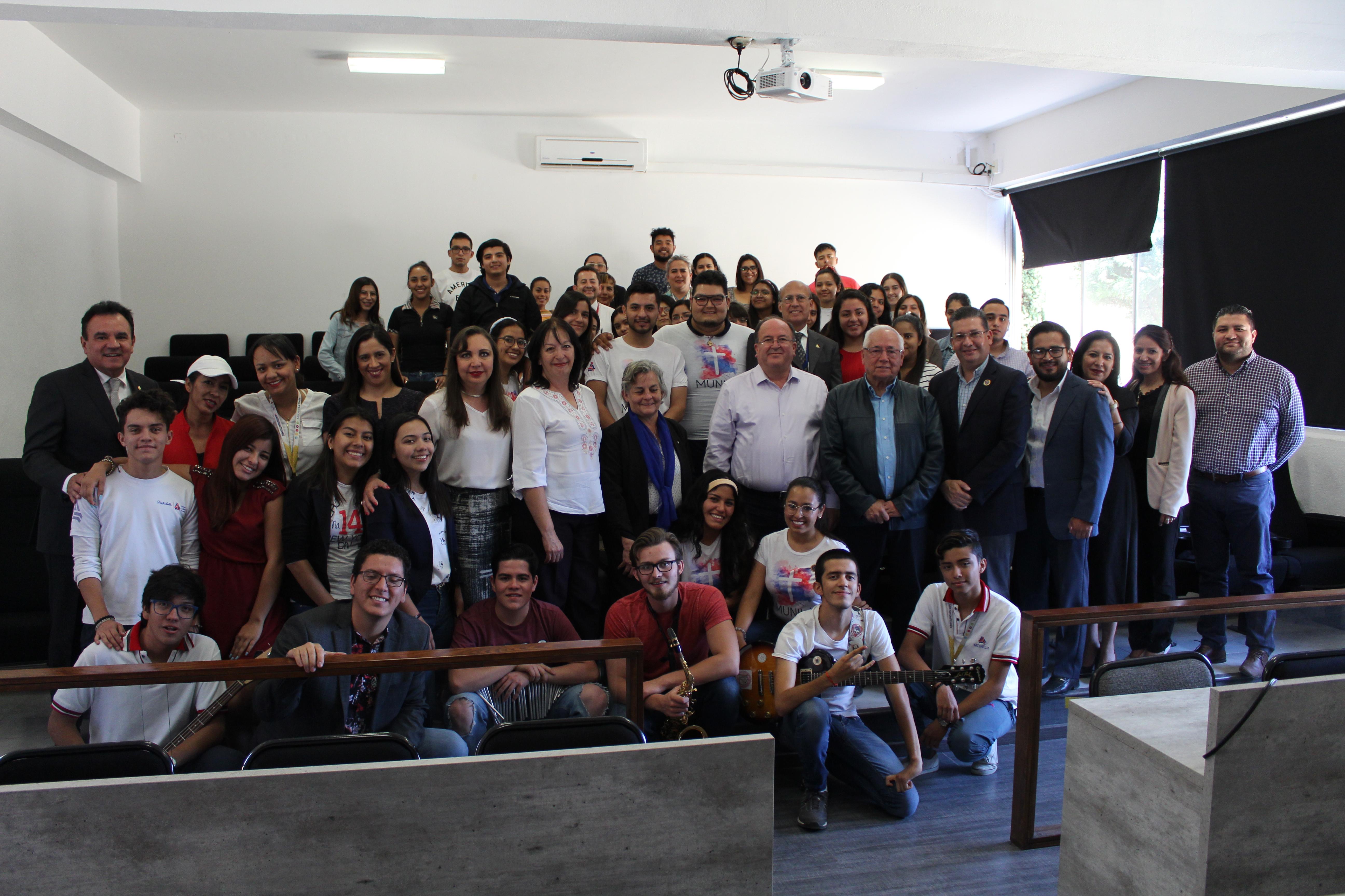 RECTORES DE LA RED LASALLISTA, SE REÚNEN CON LA COMUNIDAD DE LA UNIVERSIDAD LA SALLE MORELIA